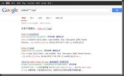googleindexof